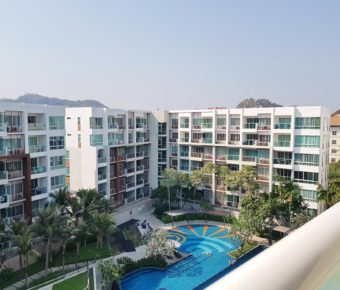 2 Bedroom Top Floor Unit in Khao Thakiab