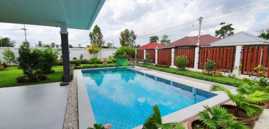 High Spec Ecologically Advanced Pool Villa in Hin Lek Fai