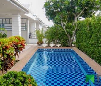 Elegant 2 Bedroom Pool Villa on Finished Development