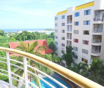 Large, Sea View Condo in Popular Complex