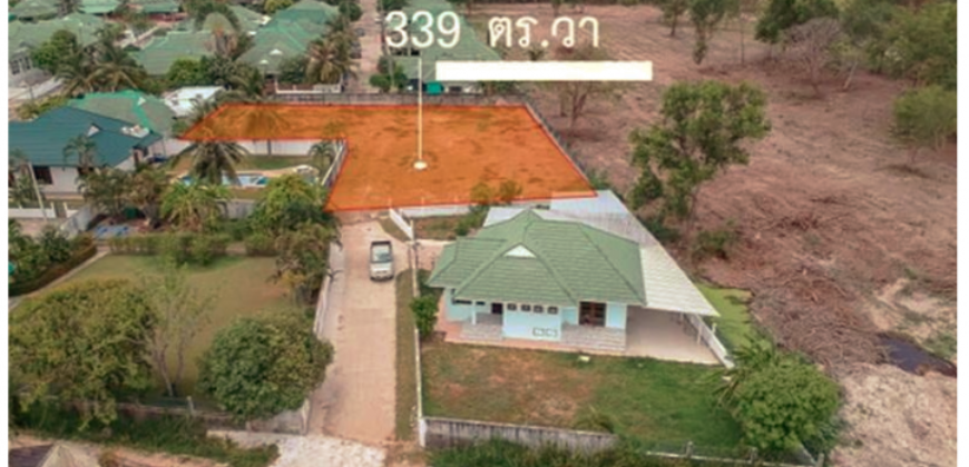 Great Plot of Land 2kms from the Main Beach of Hua Hin