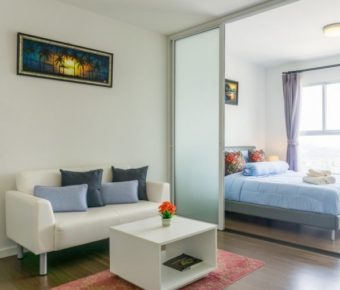 Studio Unit in Baan Kiang Fah