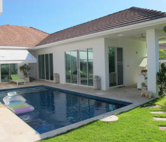 White Stone Pool Villa