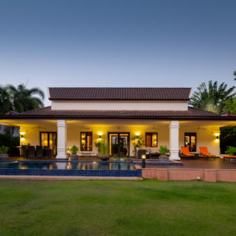 Mountain View, Balinese Style Villa on Prestigious Development