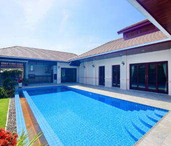 Stunning Modern Thai Style 4 Bedroom Pool Villa