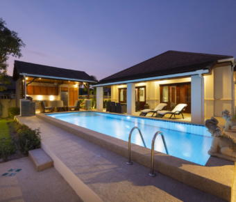 Very Solid 3 Bedroom Pool Villa in Award Winning Project