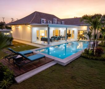Brand New Turnkey Pool Villa with Stunning Views