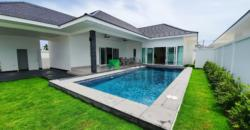 High Quality 3 Bedroom Pool Villa Ready to Move In