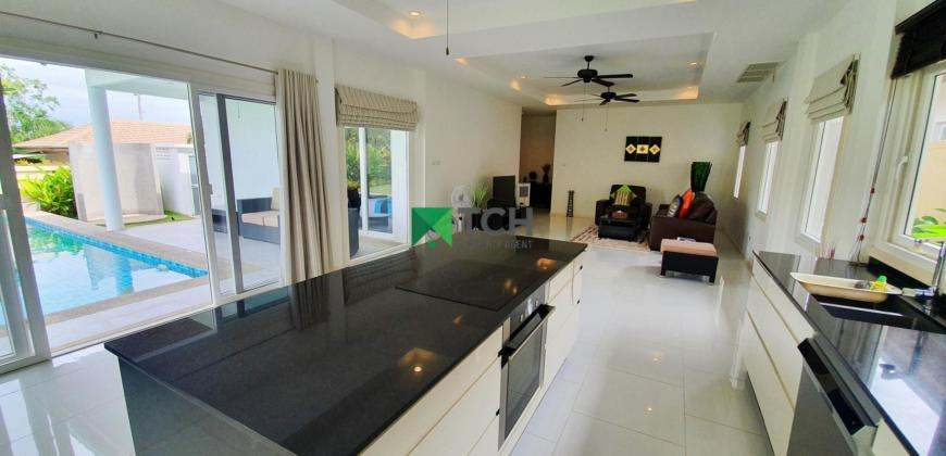 Great Price for 3 Bedroom Pool Villa on Beautiful project nr Banyan Golf Course