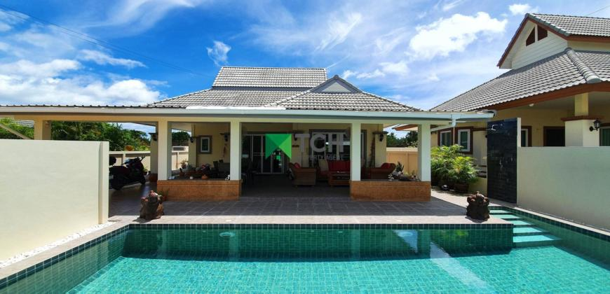 Charming Pool Villa with Large Outdoor Living Area